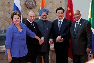 Путин встретился с лидерами стран БРИКС