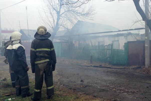 В Донецке снова слышна стрельба