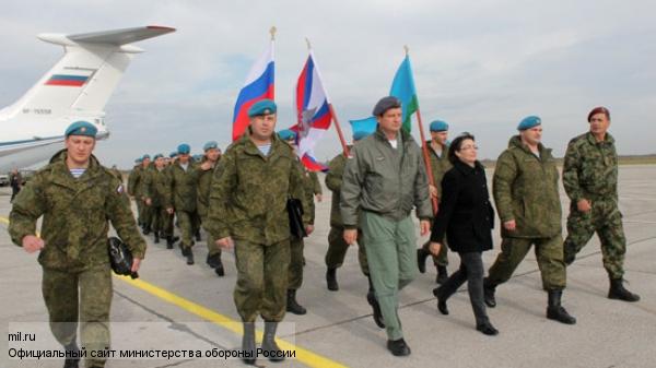 Российские десантники высадились в Сербии