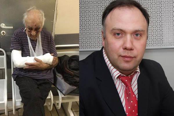 В Москве избили отца члена Общественной палаты РФ Федорова