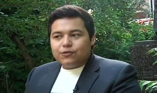 Внук президента Узбекистана выступил против деда