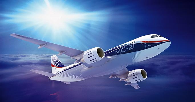 Новый российский авиалайнер МС-21 запустят в серию уже к 2017 году