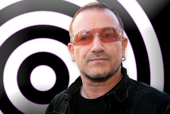 Лидер U2 Боно разбил лицо и сломал руку в шести местах