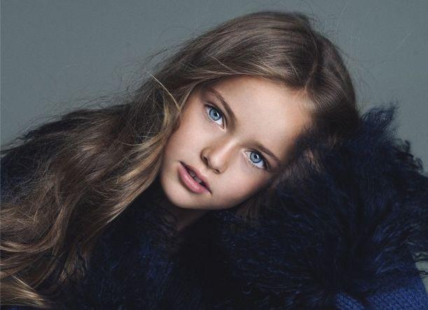 Маленькую россиянку называют самой красивой девочкой в мире