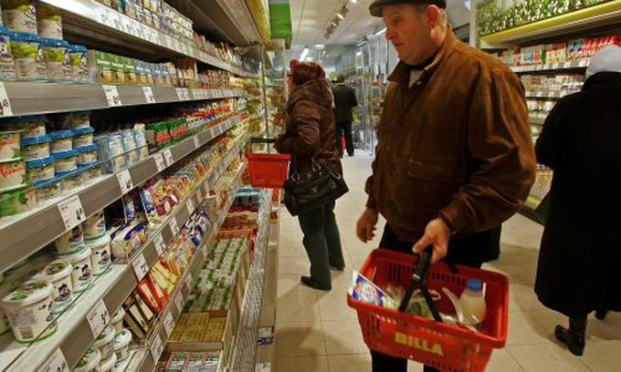 Цены на продукты питания за минувшую неделю подросли