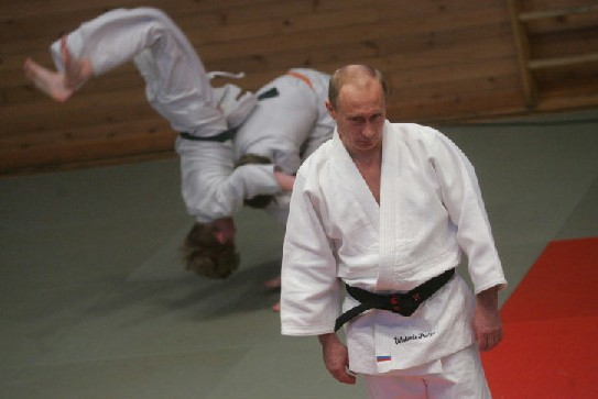 Путин получил новый дан в карате