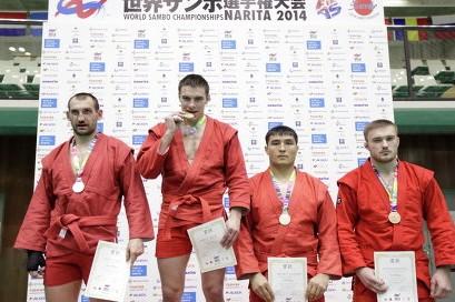 Россияне победили на ЧМ по самбо во всех видах программы