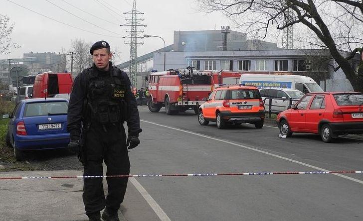 В Чехии в здании таможни прогремел мощный взрыв