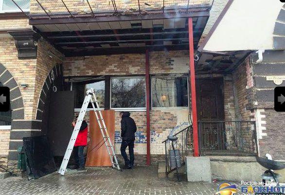 В Ростове ограбленный клиент расстрелял из гранатомета кафе