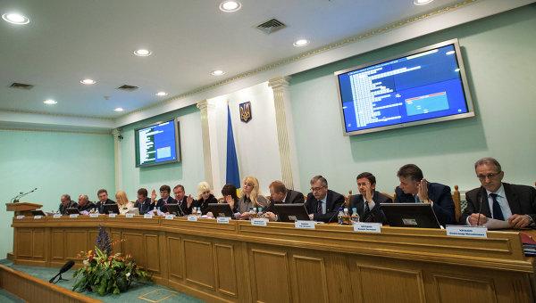 ЦИК Украины объявил итоги выборов