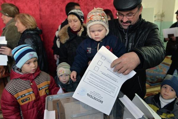 Европейские наблюдатели удивились на выборах в Донбассе