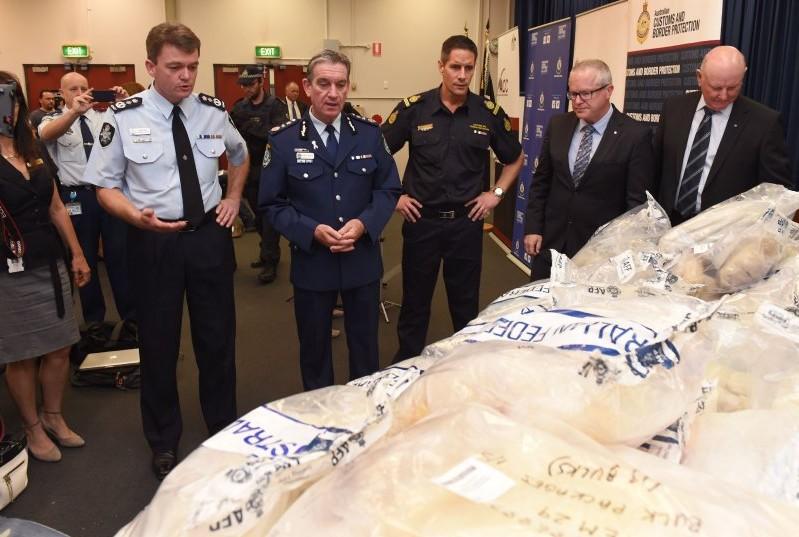 В Австралии конфисковали крупнейшую в истории партию метамфетамина