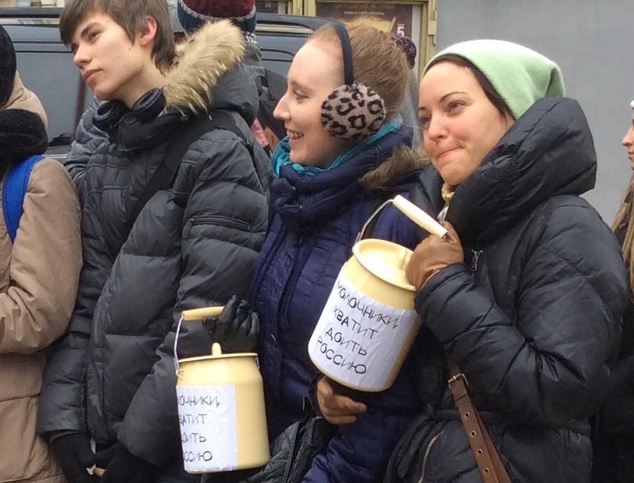 Москвичи призвали «молочников» умерить аппетиты