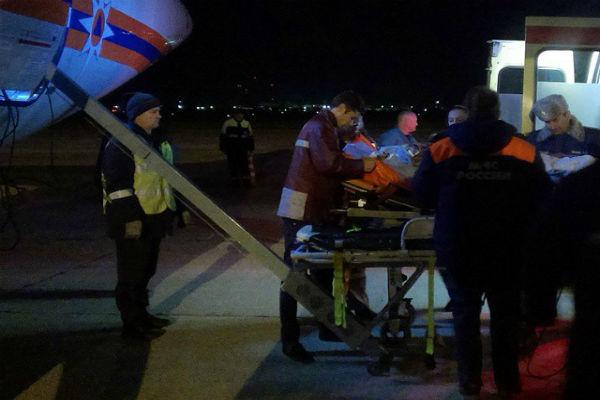 Пострадавшие при крушении вертолета на Ставрополье отправлены на лечение в Москву