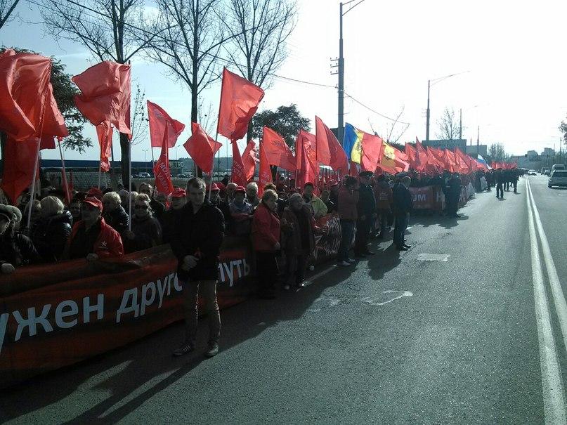 В Молдавии прошли массовые акции протеста
