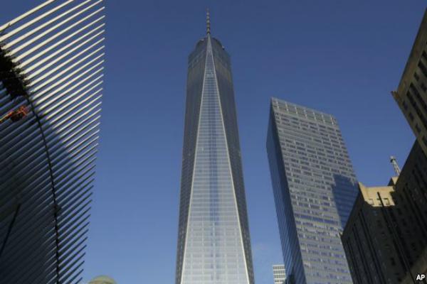 В Нью-Йорке отстроили Всемирный торговый центр