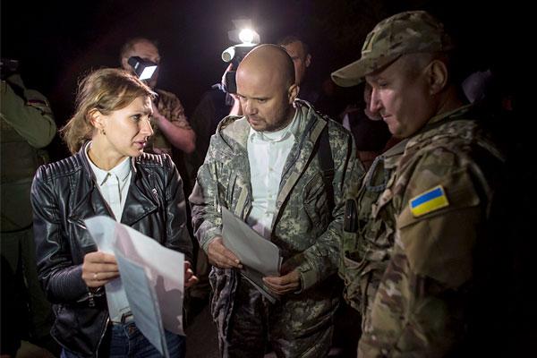 Под Донецком прошел обмен пленными по схеме «25 на 25»