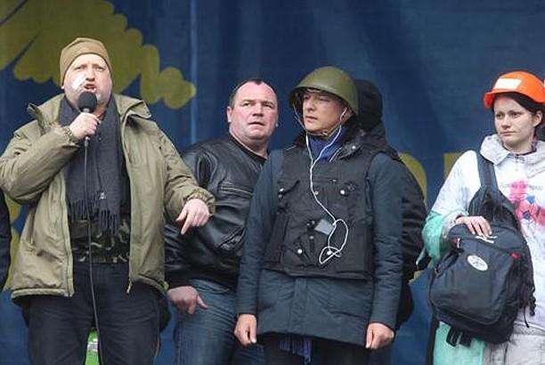 Турчинов: Майдан - это реальная угроза для Путина
