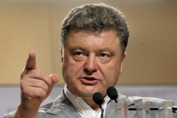 Порошенко: Дети Донбасса будут сидеть в подвалах
