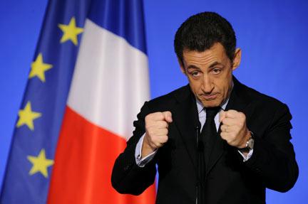 Николя Саркози возглавил крупнейшую оппозиционную партию Франции