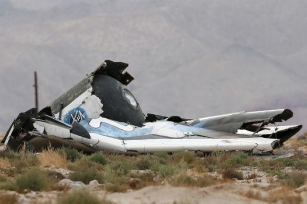 Установлены личности пилотов разбившегося SpaceShipTwo