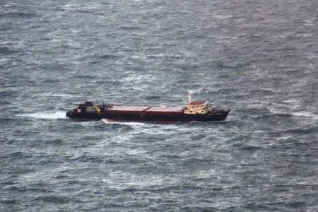 Близ российского судна в Азовском море произошел взрыв