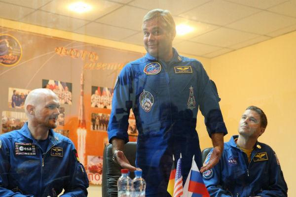В Казахстане приземлился международный экипаж с МКС