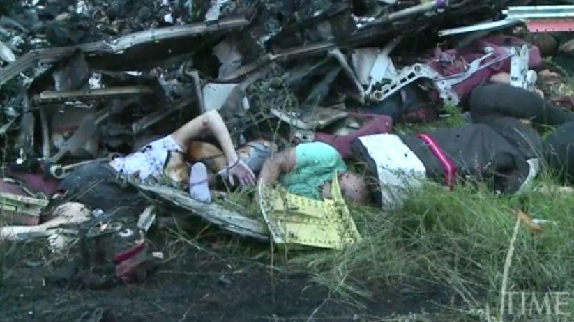В обломках «Боинга» в Донбассе нашли человеческие останки