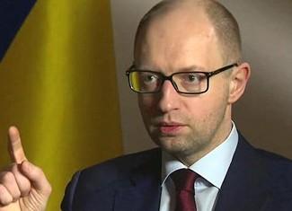 Яценюк признался, что Украине