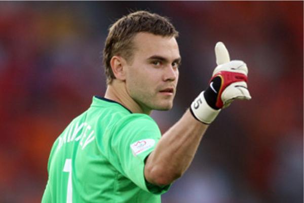Акинфеев сыграл рекордное число матчей за ЦСКА