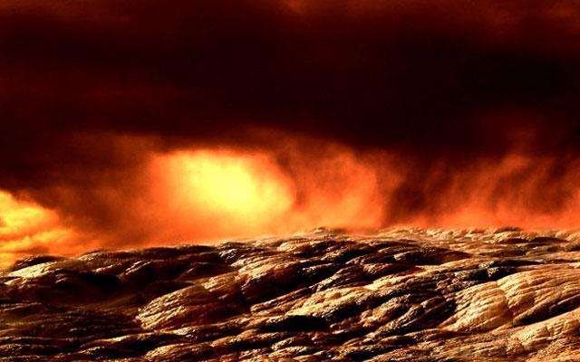 NASA построит в облаках Венеры летающий город