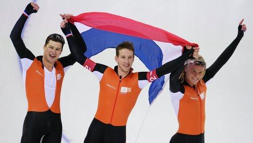 Голландские конькобежцы бойкотировали Чемпионат Европы в РФ из-за политики