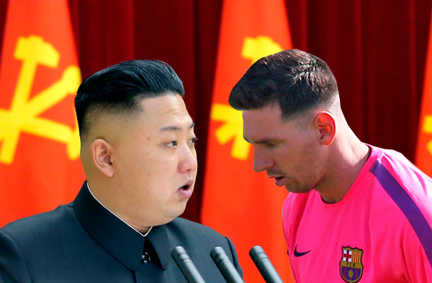Ким Чен Ын пригласил Лионеля Месси в КНДР
