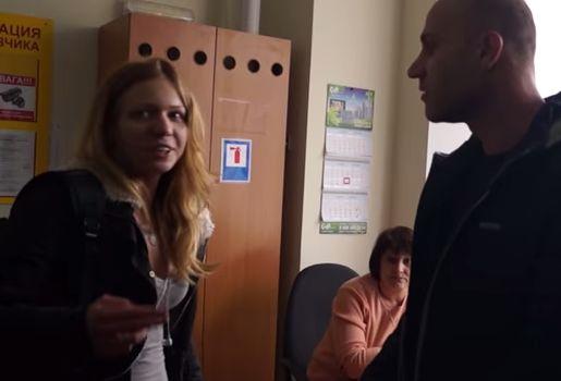 Айдаровцы во главе с 19-летней активисткой напали на офис в Виннице