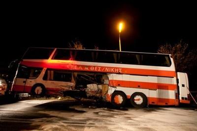 Мегаавария в Греции - столкнулись 35 автомобилей