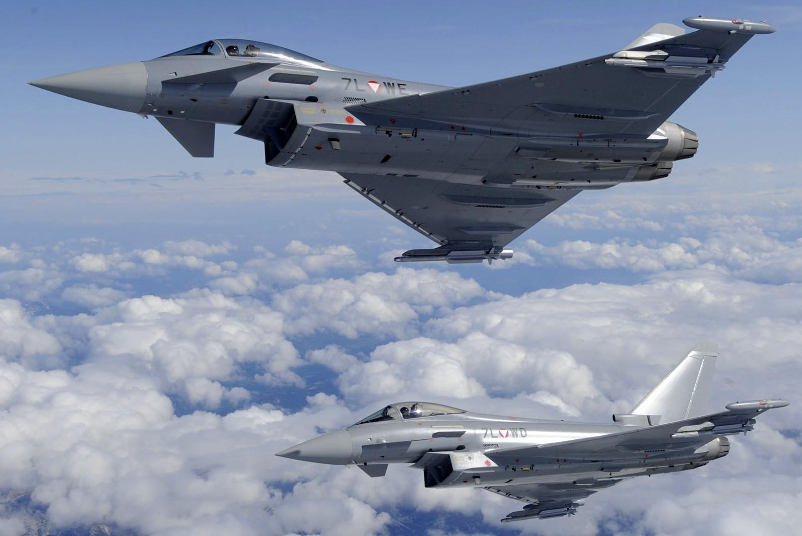 Итальянские ВВС будут охранять страны Балтии