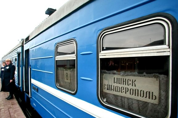 Белоруссия отменила поезда в Крым