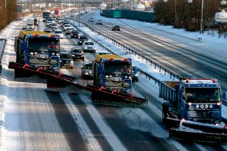Для спасения Москвы от снегопада МЧС готовит 10 тысяч машин