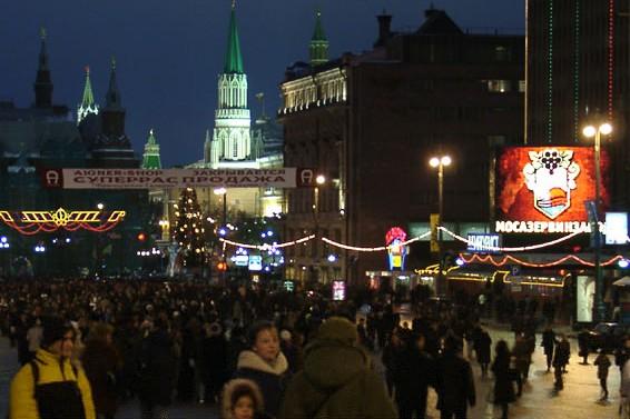 Главной площадкой празднования Нового года станет Тверская улица
