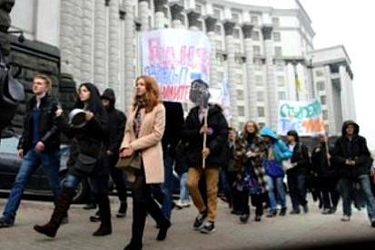 Голодные игры по-украински: студенты бунтуют против