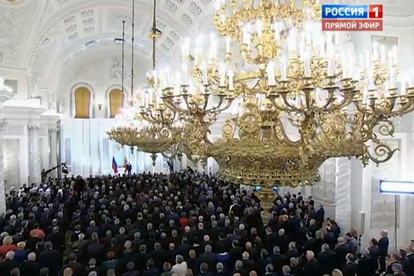 Путин: Россия готова принять любой вызов времени!