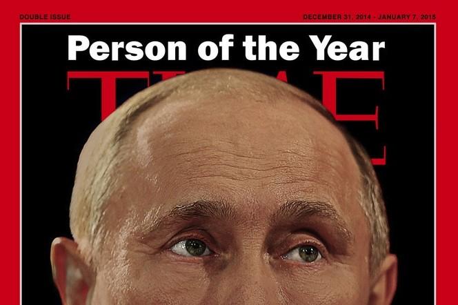 Time выбрал Путина