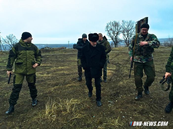 Лимонов отправился в Донбасс