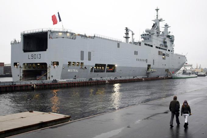 Возврат Францией денег за «Мистрали» - под большим вопросом
