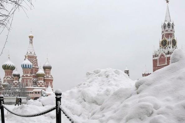 На выходных снега в Москве станет вдвое больше