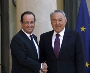 Олланд: Казахстан поможет улучшить отношения России и Европы
