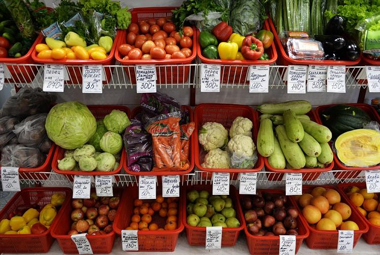 Счетная палата: цены на продукты за 10 месяцев выросли на 9,6%