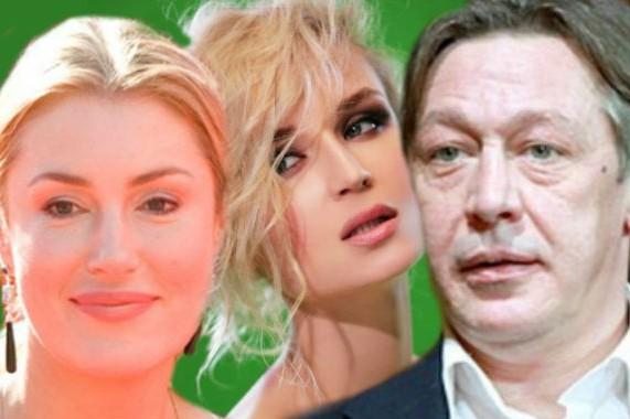 Полина Гагарина и Михаил Ефремов снялись в украинском новогоднем шоу