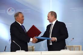 Путин и Назарбаев подписали союзнический договор