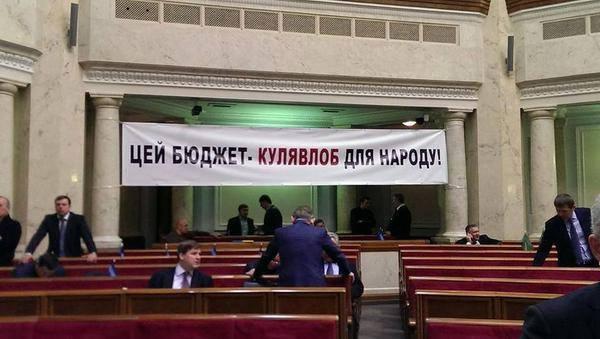 Верховная Рада приняла бюджет на 2015 год